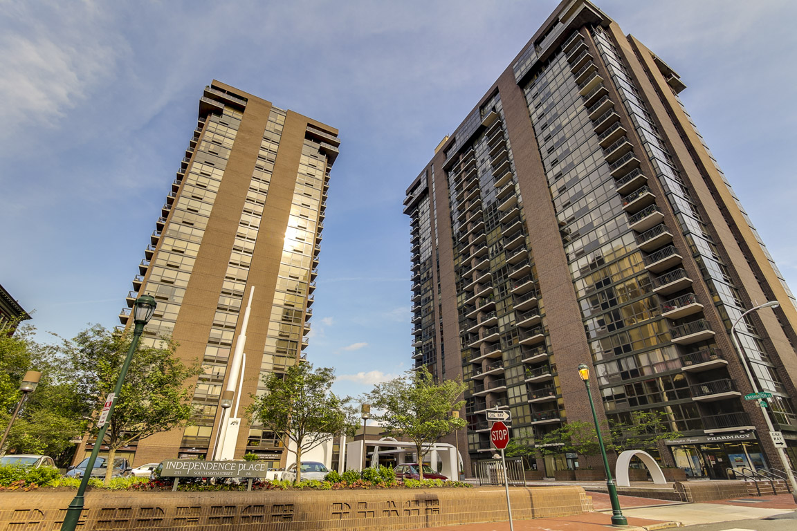 Independence Place two tower luxury condos for rent and sale