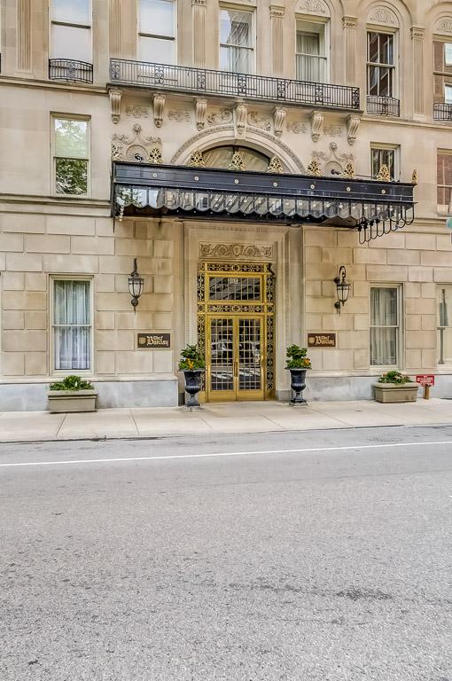 exterior of Philadelphia luxury condo building