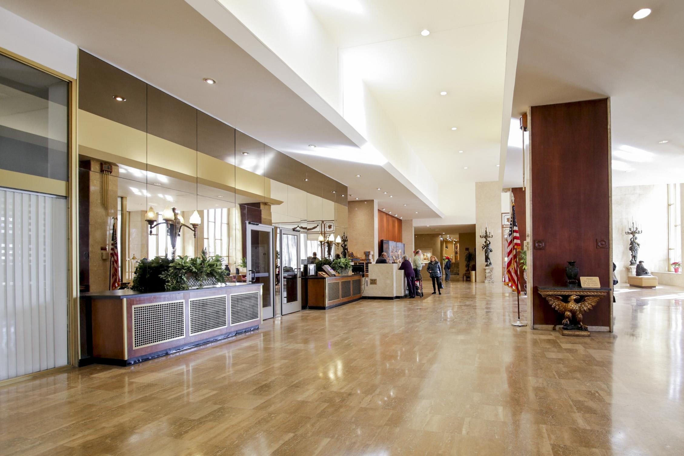 lobby luxury condo Philadelphia
