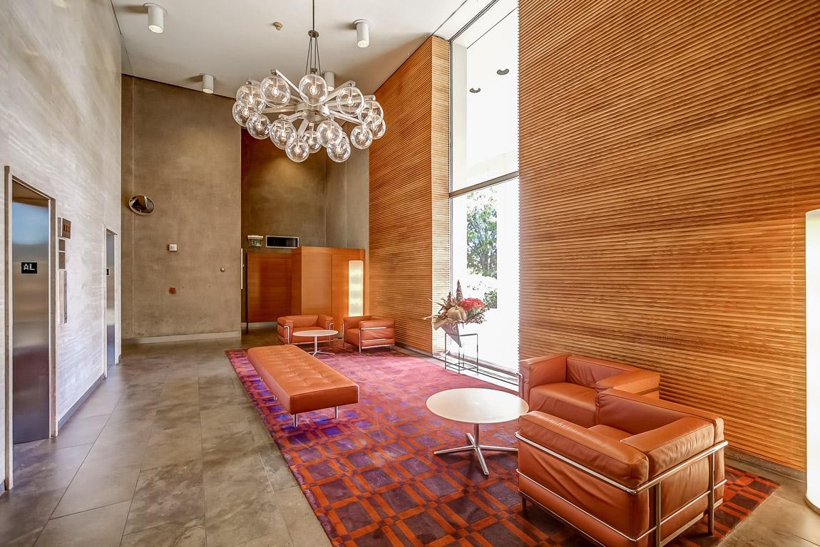 lobby in luxury condo building Philadelphia