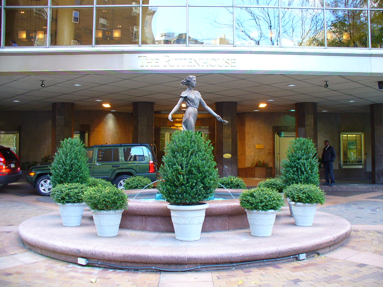 Exterior of The Rittenhouse luxury condos for sale