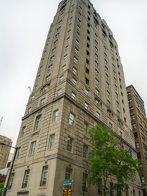 Lanesborough 17-unit luxury condo building in Center City
