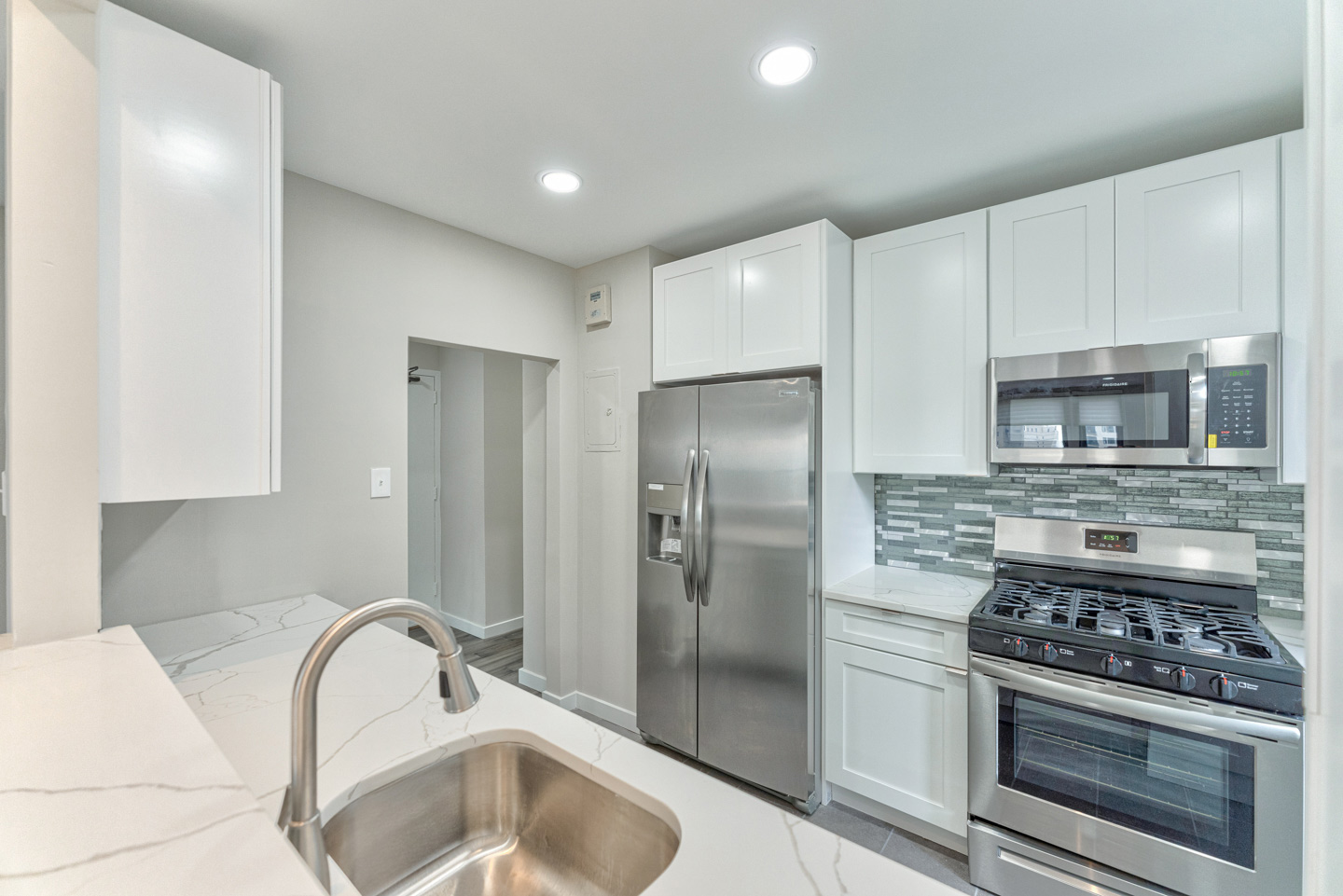 kitchen at the Wellington luxury condos for sale in Rittenhouse Square neighborhood